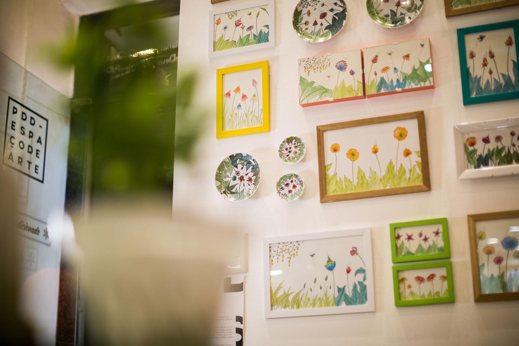 Flores Imaginárias, de Beth Tropia, no PdD Espaço de Arte!